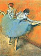 Edgar Degas Dancers At The Barre canvas prints