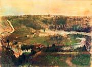 Edgar Degas Landscape