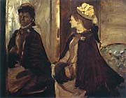 Edgar Degas Madame Jeantaud at the Mirror