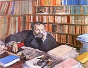 Edgar Degas Portrait of Edmond Duranty