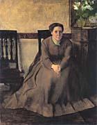 Edgar Degas Portrait of Victoria Dubourg