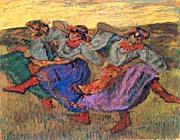 Edgar Degas Russian Dancers