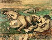 Edgar Degas The Bathers canvas prints