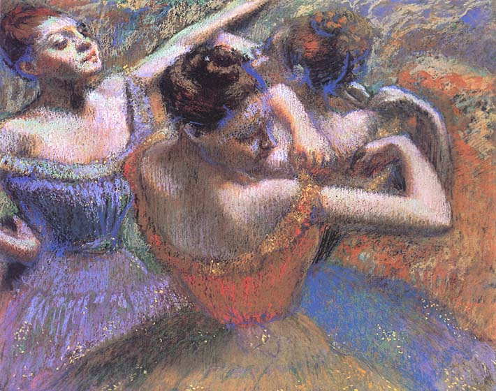 Edgar Degas The Dancers stretched canvas art print