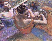 Edgar Degas The Dancers