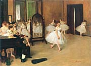 Edgar Degas The Dancing Class canvas prints