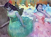 Edgar Degas The Entry Of The Masked Dancers canvas prints