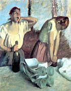Edgar Degas The Ironers