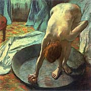 Edgar Degas The Tub