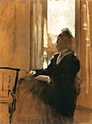 Edgar Degas Woman at a Window