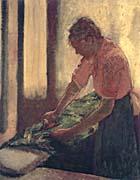Edgar Degas Woman Ironing