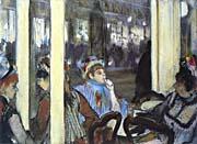 Edgar Degas Women on a Cafe Terrace, Evening