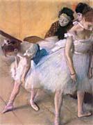 Edgar Degas Before The Rehearsal canvas prints