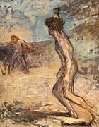 Edgar Degas David and Goliath