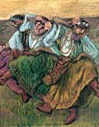 Edgar Degas Les Danseuses Russes
