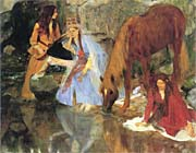 Edgar Degas Mlle Fiocre in the Ballet of La Source