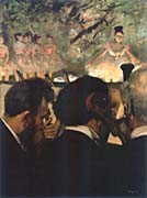 Edgar Degas Musicians In The Orchestra canvas prints