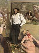 Edgar Degas Portrait of Henri Michel-Levy