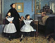 Edgar Degas The Bellelli Family