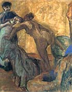 Edgar Degas The Cup of Chocolate