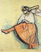 Edgar Degas The Russian Dancer canvas prints
