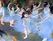 Edgar Degas The Star Dancers Detail canvas prints