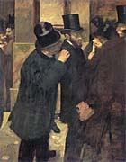 Edgar Degas The Stock Exchange