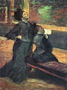 Edgar Degas Visit to a Museum