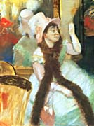 Edgar Degas Portrait after the Costume Ball