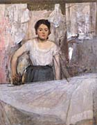 Edgar Degas Degas Woman Ironing