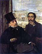 Edgar Degas Edgar Degas and Evariste de Valernes