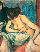 Edgar Degas The Toilette