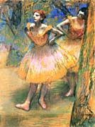 Edgar Degas Two Dancers
