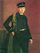Edgar Degas Achille de Gas in the Uniform of a Cadet