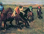 Edgar Degas Before the Race