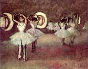 Edgar Degas Dancers In The Foyer canvas prints