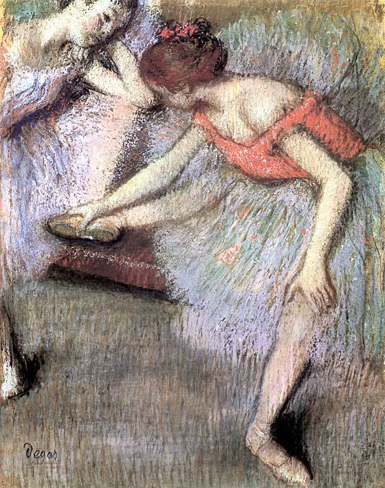 Edgar Degas Danseuses stretched canvas art print