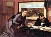 Edgar Degas Sulking