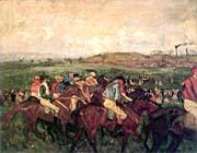 Edgar Degas The Gentleman's Race, Before the Start