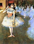 Edgar Degas The Star Impressionist Art canvas prints