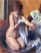 Edgar Degas Woman in a Tub