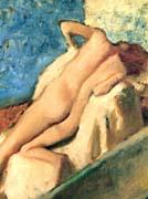 Edgar Degas Nude Woman after the Bath