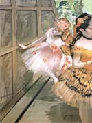 Edgar Degas Impressionist Dancers In The Wings canvas prints