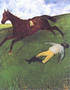 Edgar Degas The Fallen Jockey