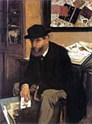 Edgar Degas The Print Collector