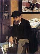 Edgar Degas The Print Collector