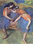 Edgar Degas Degas Ballerinas canvas prints