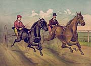 Currier And Ives A Champion Horse Race canvas prints