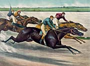Currier And Ives A Desperate Finish