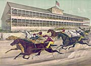 Currier And Ives A Race To The Wire